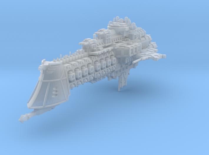 Overlord Battlecruiser 3d printed