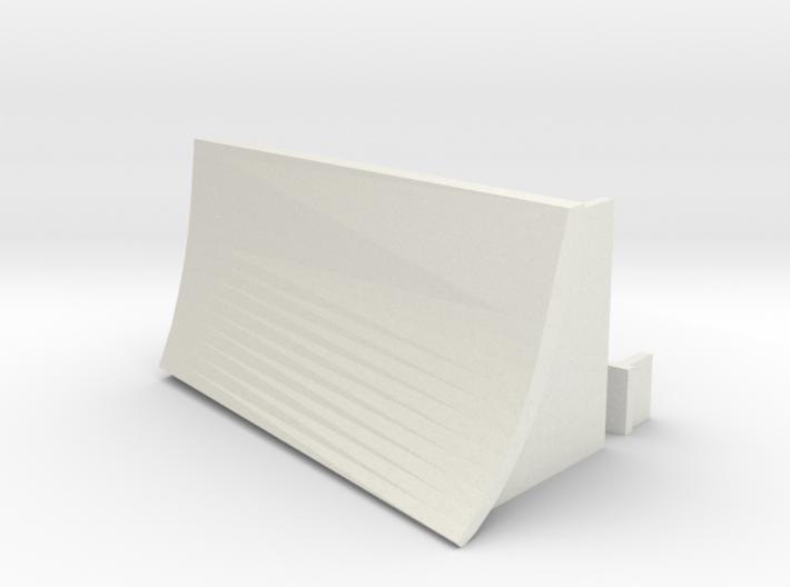OO / HO Snowplough Type 4 Size 1 3d printed