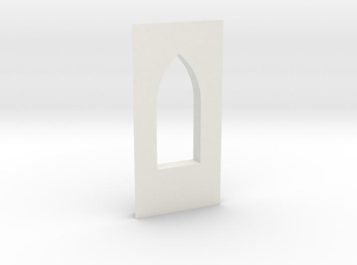 shkr010 - Teil 10 Seitenwand mit Fensteröffnung 3d printed