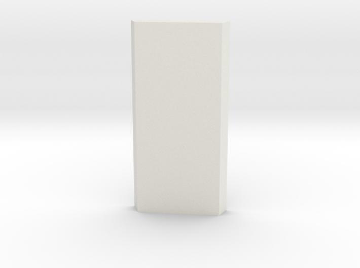 shkr001 - Teil 1 Seitenwand fensterlos angefast 3d printed