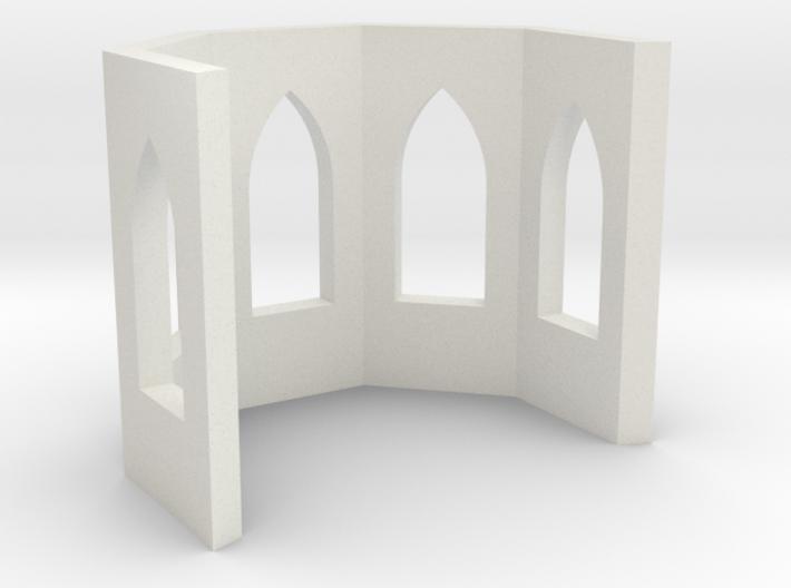 shkr018 - Teil 18 Chor ohne Fenster nur mit Leibun 3d printed