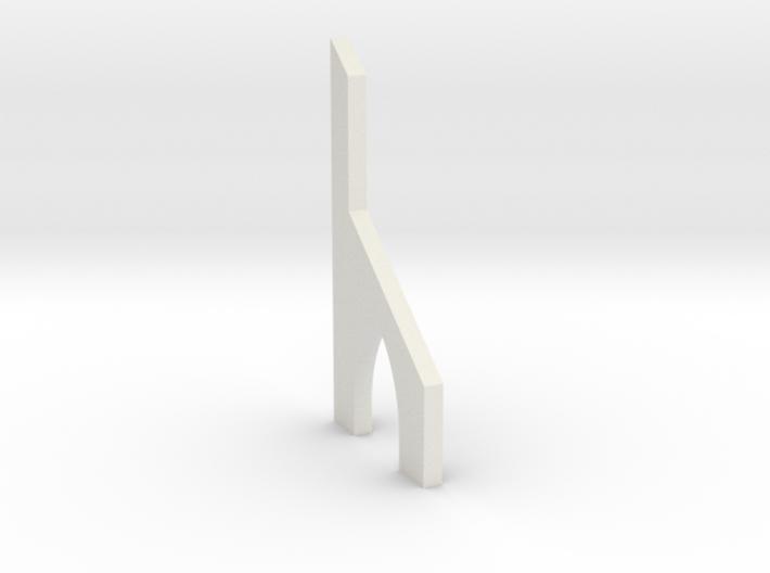 shkr053 - Teil 53 Stützmauerpfeiler mit Durchgang 3d printed