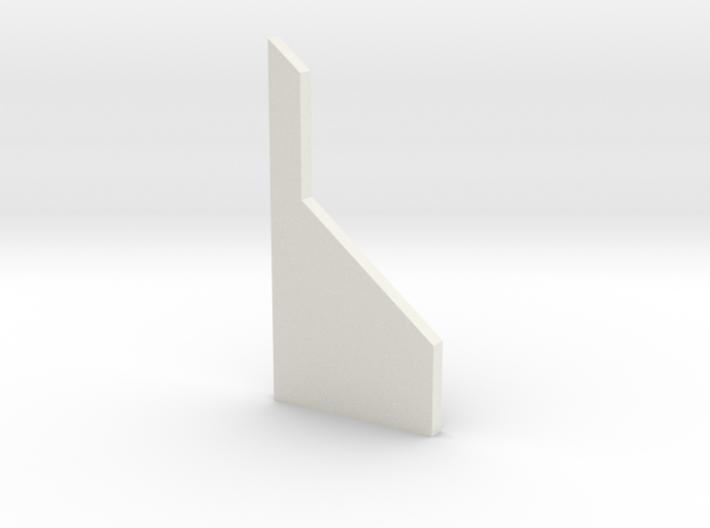 shkr056 - Teil 56 Stützmauerpfeiler breit voll Höh 3d printed