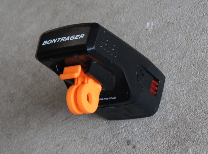 GoPro mount for Bontrager Ion 350/450/Elite/Pro 3d printed