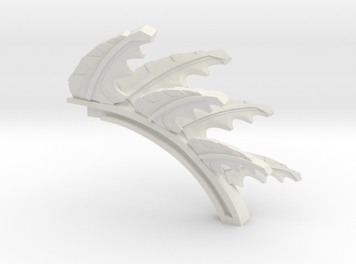 Plant Control spine 3d printed
