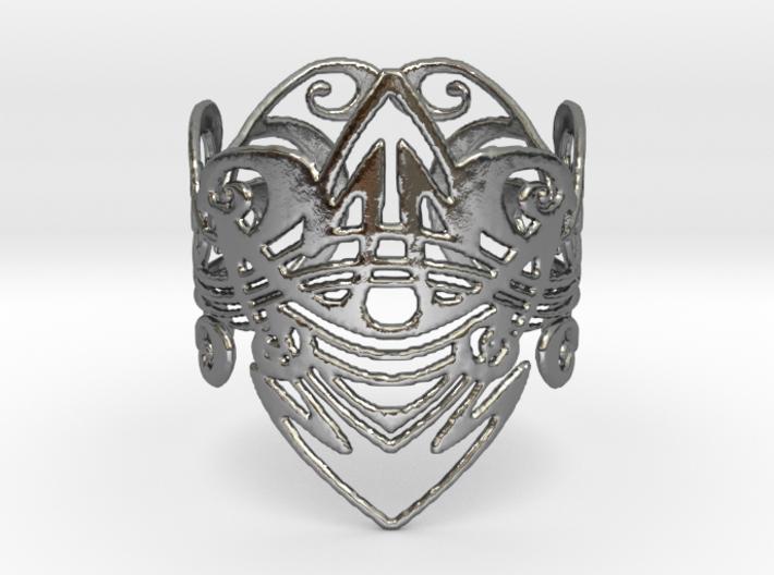 Art Nouveau Bracelet 3d printed