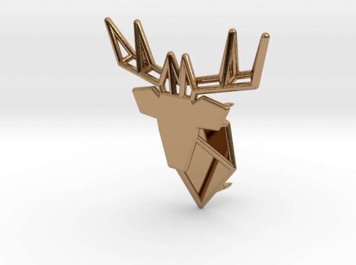 Deer Pin 3d printed