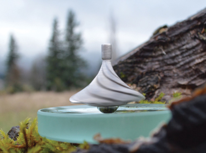 The Zephyr Spinning Top 3d printed
