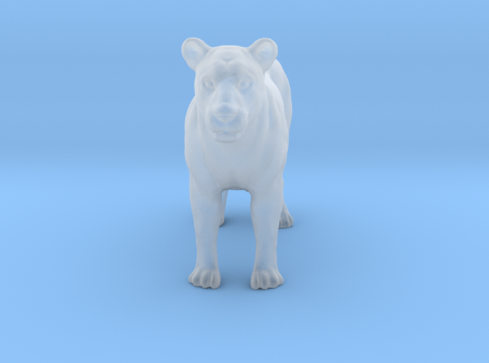 Printle Thing Lioness - 1/72 3d printed