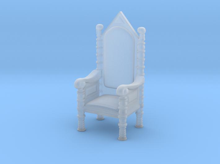Printle Thing Throne - 1/72 3d printed