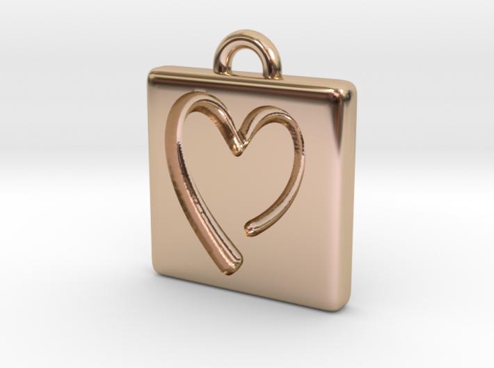 heartPendant 3d printed
