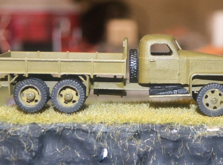 Studebaker US6 HO, 1/87th, scale 3d printed