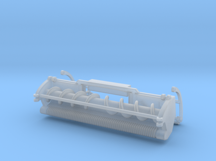 1/64 Green SPFH windrow header 3d printed