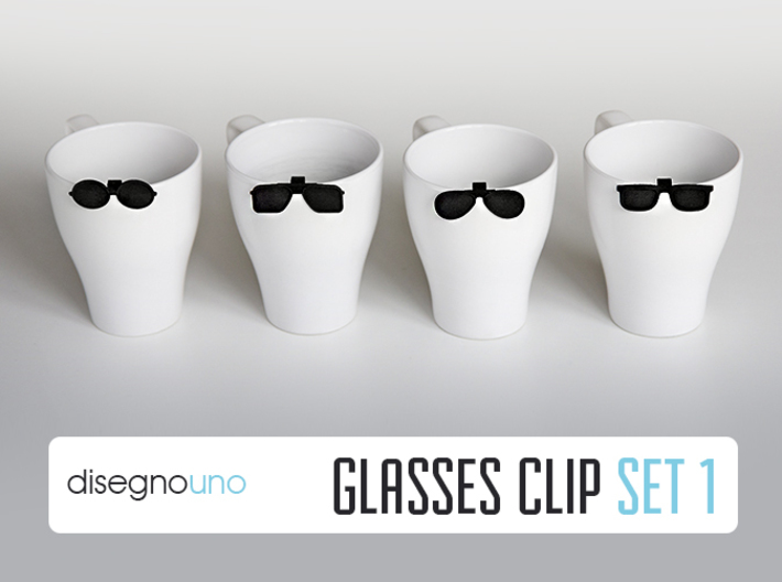 Party Accessories | Glasses (4 pz) 3d printed