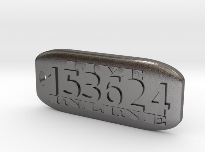 Inline 6 Key Fob 3d printed