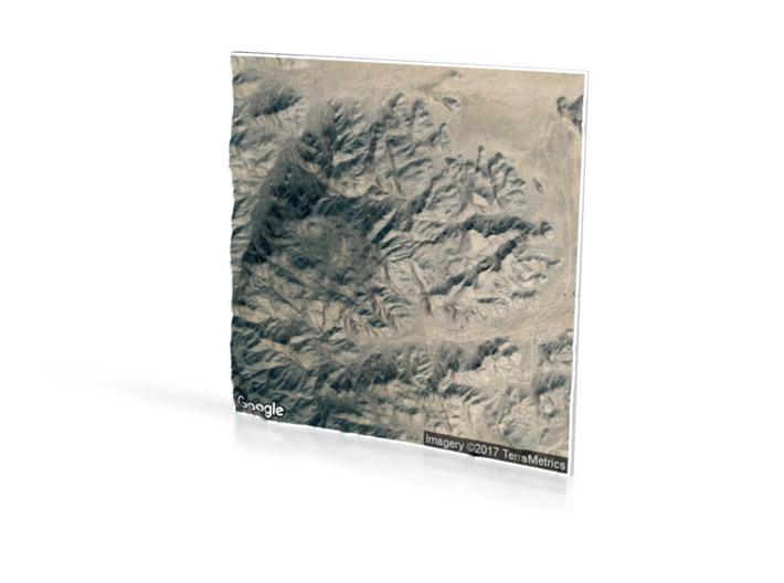 Black Rock Area 3d printed