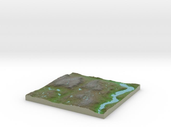 Terrafab generated model Wed Aug 02 2017 01:06:35 3d printed