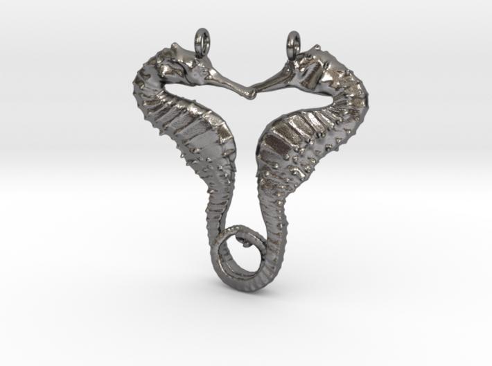 SEAHORSE Pendant, 4.5cm length 3d printed