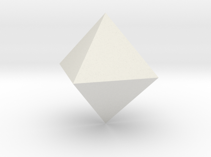 Octahedron, 25 mm 3d printed