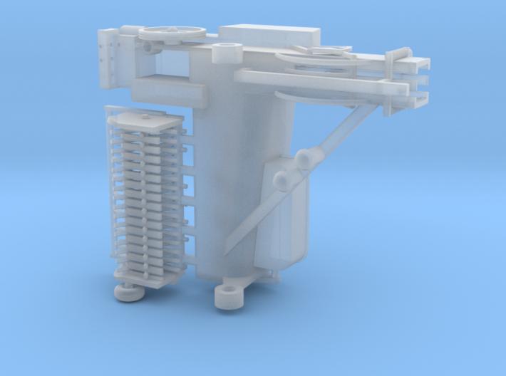 1/64 Small Square Baler Part #1 Baler Assembly 3d printed