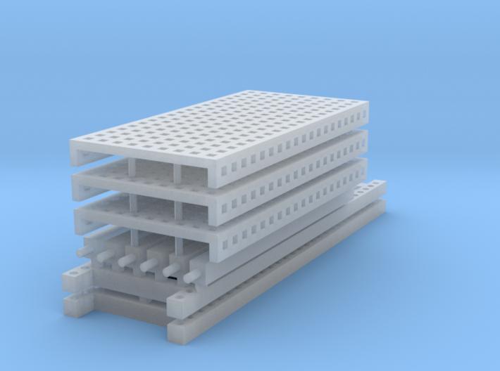 1/64 3 high 8ft PR mesh 3d printed