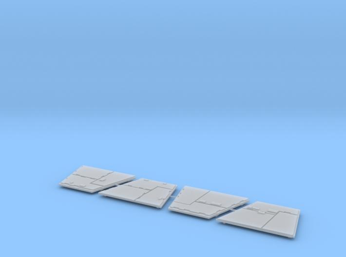 DeAgo Millennium Falcon Airlock side panels 3d printed