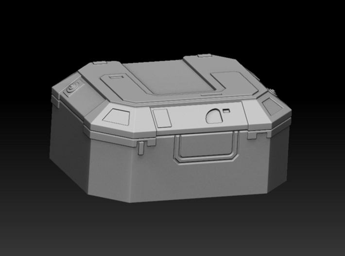 1:72 SW Lg Equipment Boxes 3d printed