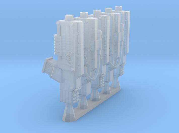 Espada-pattern Shotgun 3d printed