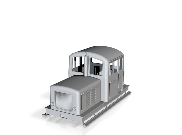 0m z4p locomotor ADAPTED 3d printed
