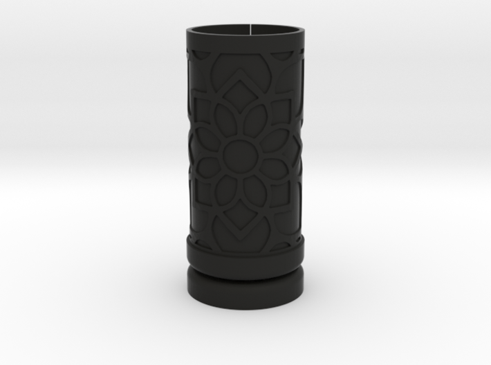 Solid Gift roll small with Mosaic-2 (6 cm) 3d printed