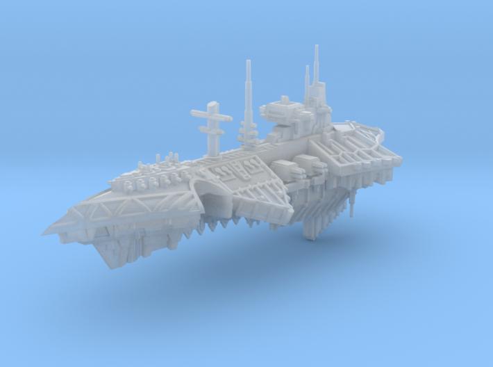 Devastator Cruiser 3d printed