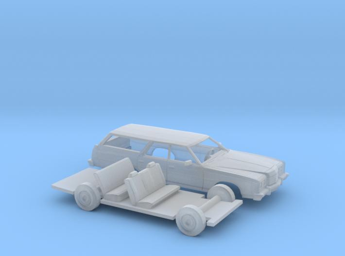 1/87 1974 Ford LTD Station Wagon Kit 3d printed