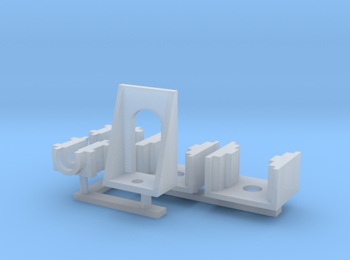 Revised Bulleid chassis parts 2/2 3d printed