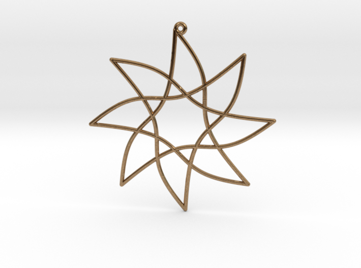 Cotangent Ornament 3d printed