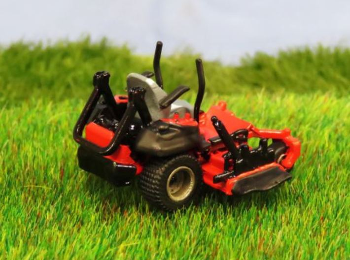 1/64 Scale Gravely Zero Turn Mower- V1 3d printed