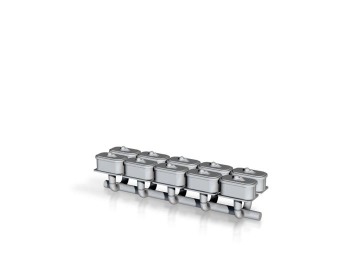 N Scale Switch Air Valve Box 3d printed
