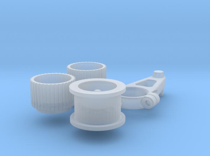1/10 Scale Generic Blower Pulleys 3d printed