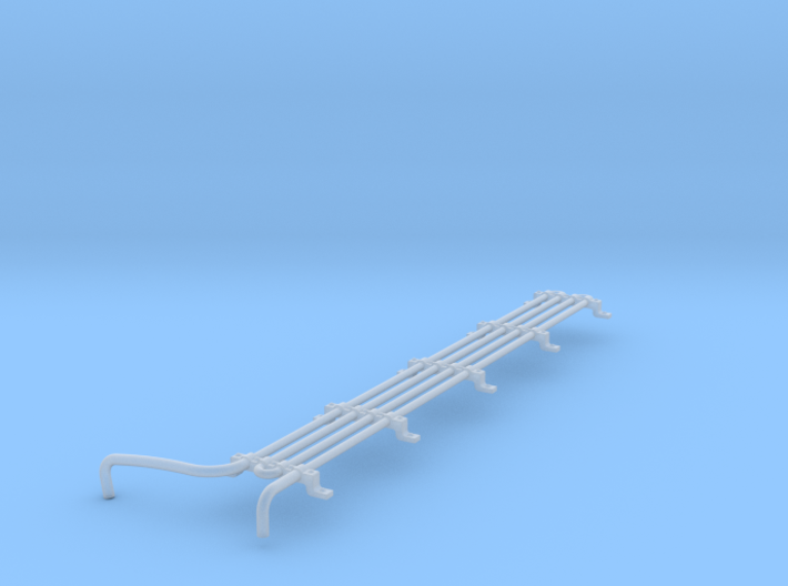 F Unit Cooling Coil HO Scale 3d printed