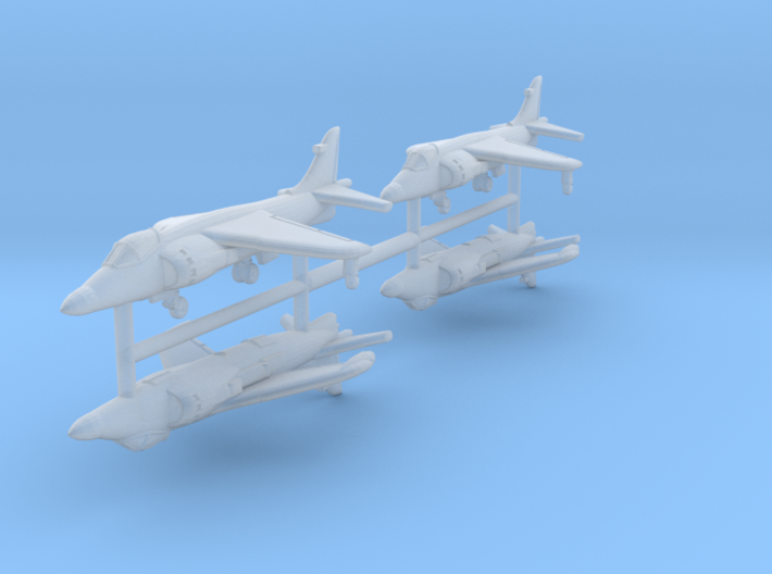 1/700 Sea Harrier FA Mk.2 (x4) 3d printed