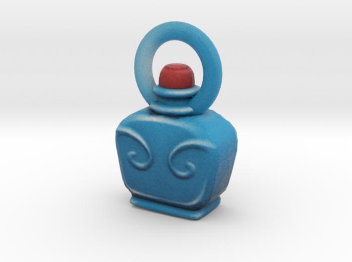 Dota 2 bottle (full) 3d printed