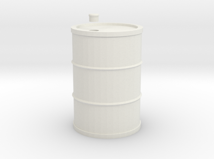 Drum 200 Litre 1:18 3d printed