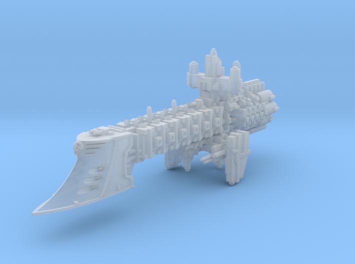 Doubtless Light Cruiser v2 3d printed