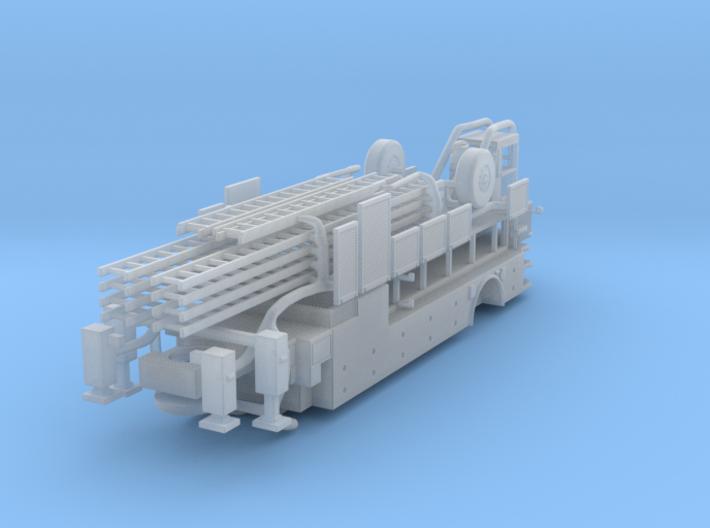 1/160 Tiller Body/trailer (no boom) 3d printed