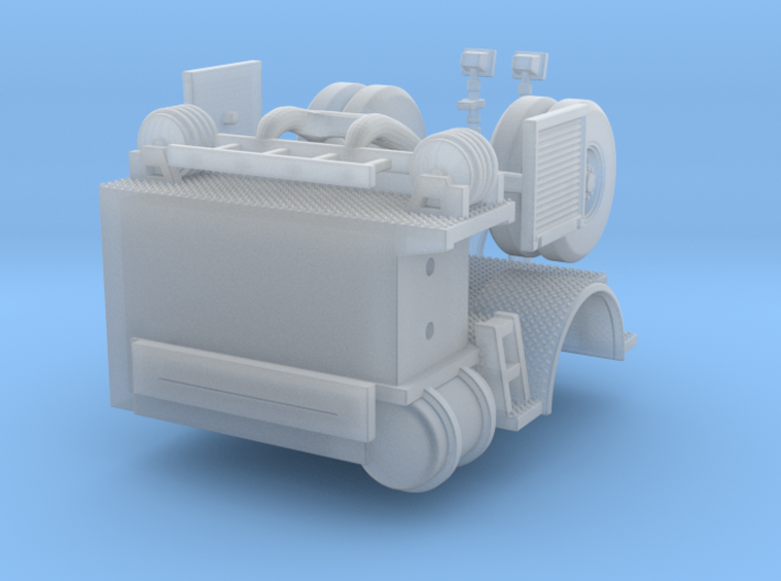 1/160 Tiller Tractor rear section 3d printed
