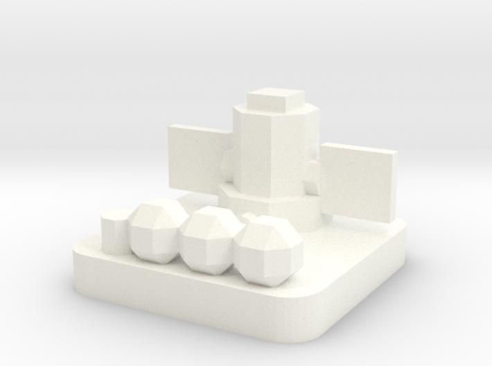 Mini Space Program, Nuclear Generator 3d printed