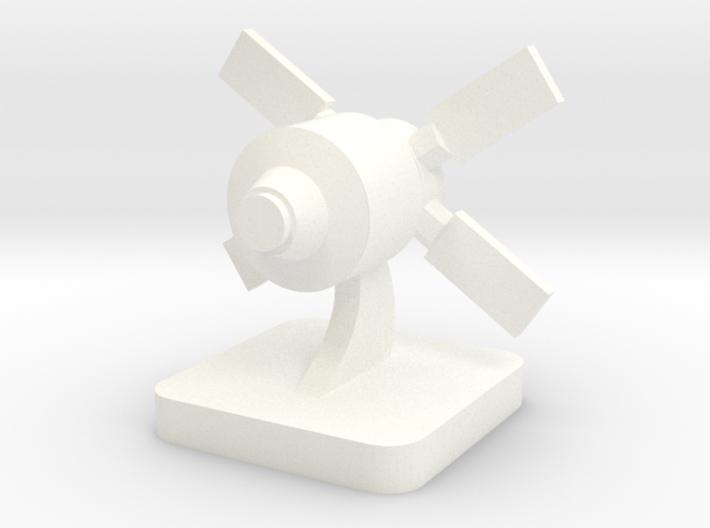 Mini Space Program, ATV spacecraft 3d printed