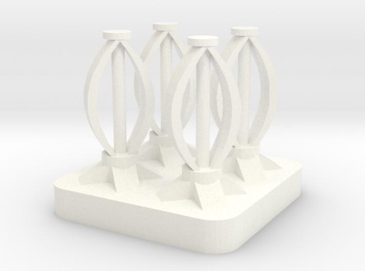 Mini Space Program, Wind Turbines 3d printed