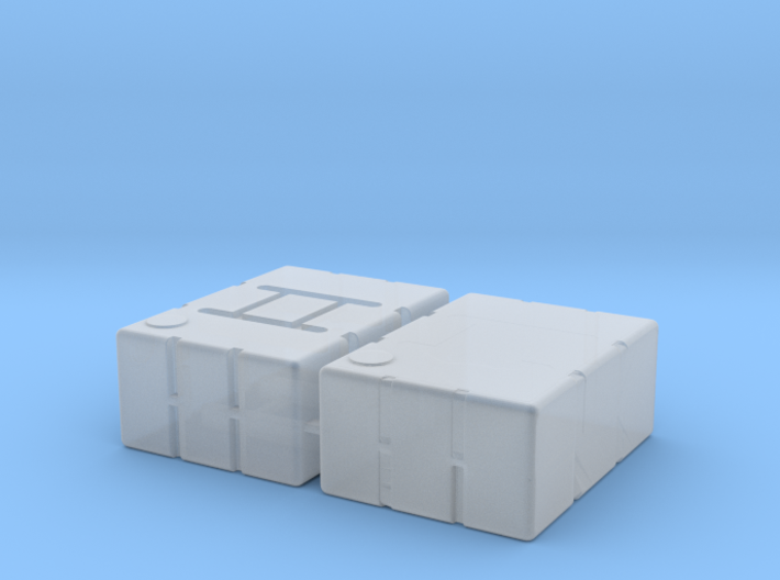 1:78 Refueling Boxes 3d printed