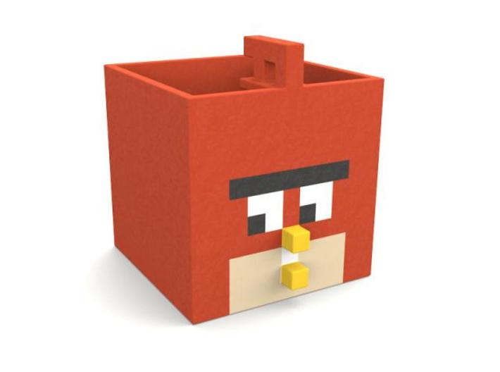 Angry Box 3d printed Angry box front