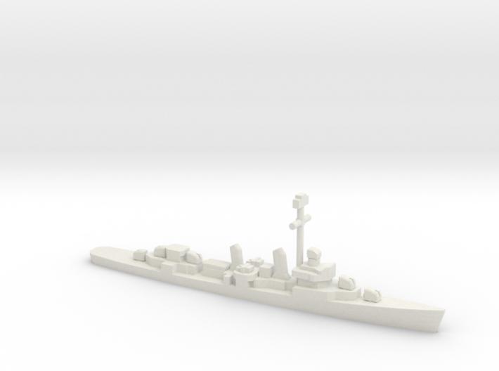 Fletcher-class destroyer (1941-1944), 1/2400 3d printed